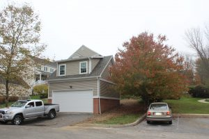 detached two-story garage with office space