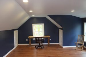 small home office above garage in pa
